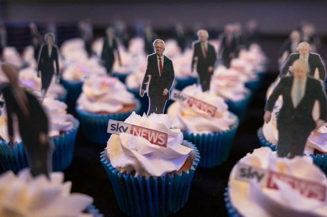 Promotional Cupcakes for Sky News